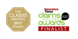 Insurance Times Finalist badge