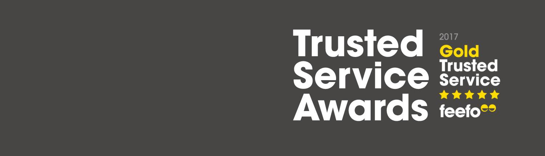 Feefo Trusted Service Awards
