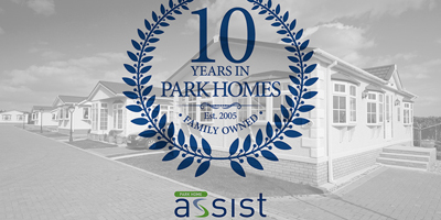Park Home Assist 10 years badge