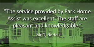 Park Home Assist Quote