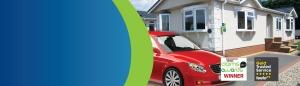 park home car banner