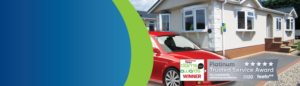 park home car insurance banner