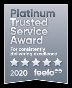 Platinum Feefo Logo